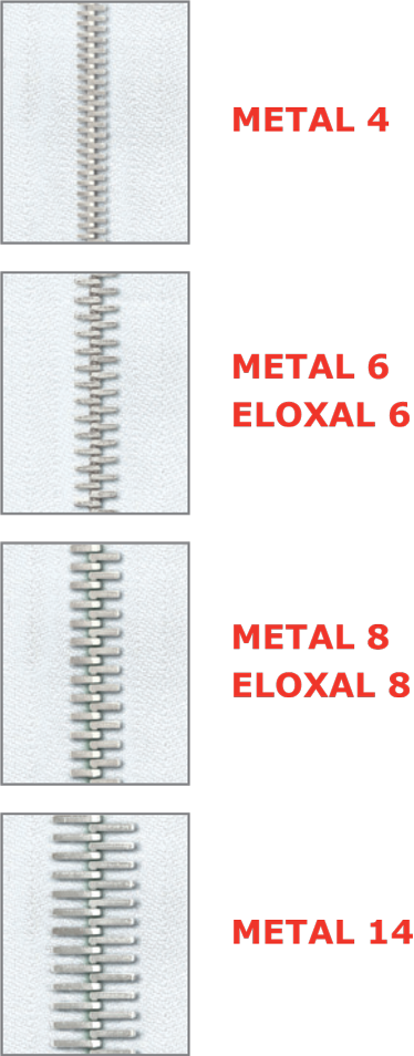 Metal and Eloxal